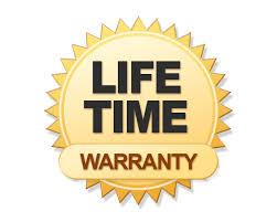 life time warranty